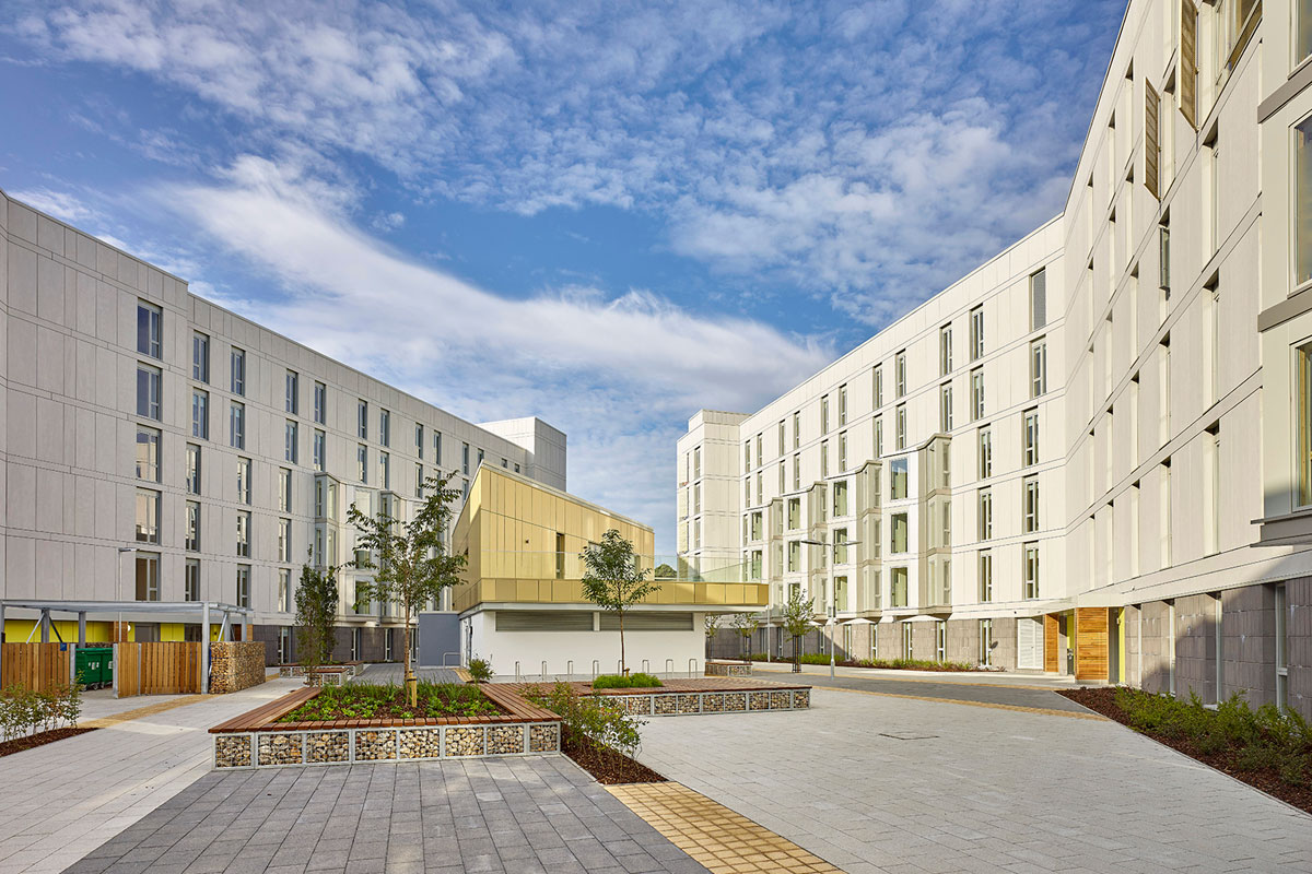 UEA Blackdale Residences by LSI Architects