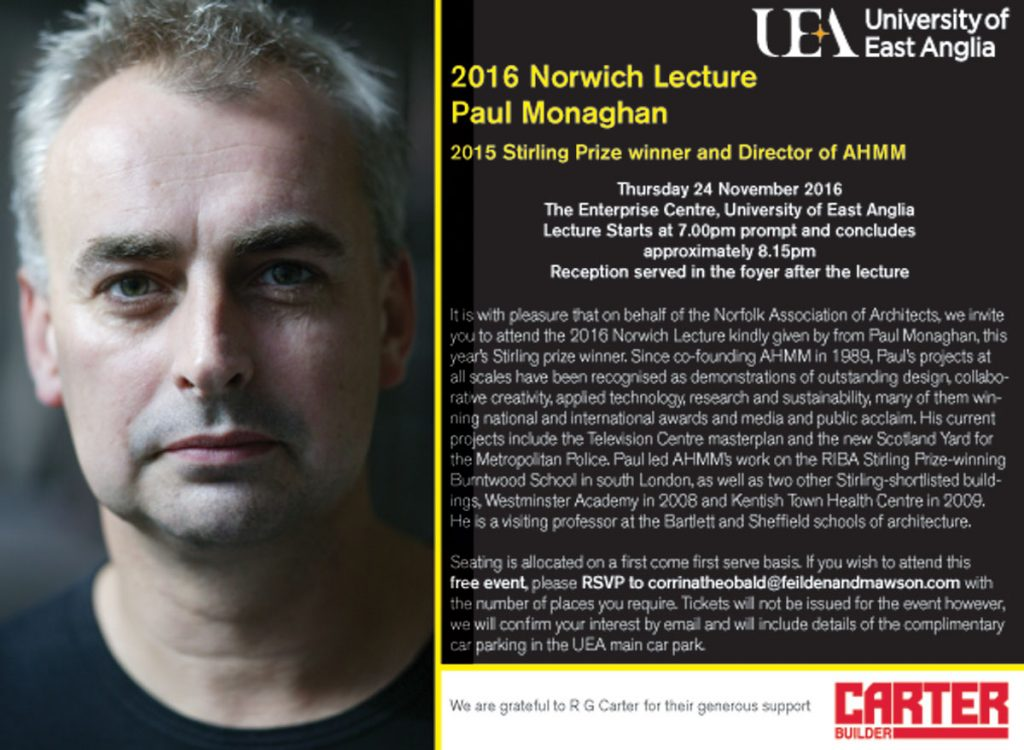 2016 Norwich Lecture