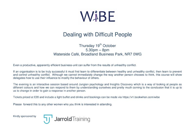 WiBE - Dealing With Difficult People