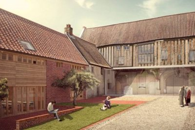 08/10: Dragon Hall, Norwich - Guided Building Tour